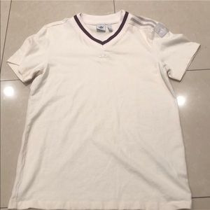 Adidas V-neck Jersey top T-shirt